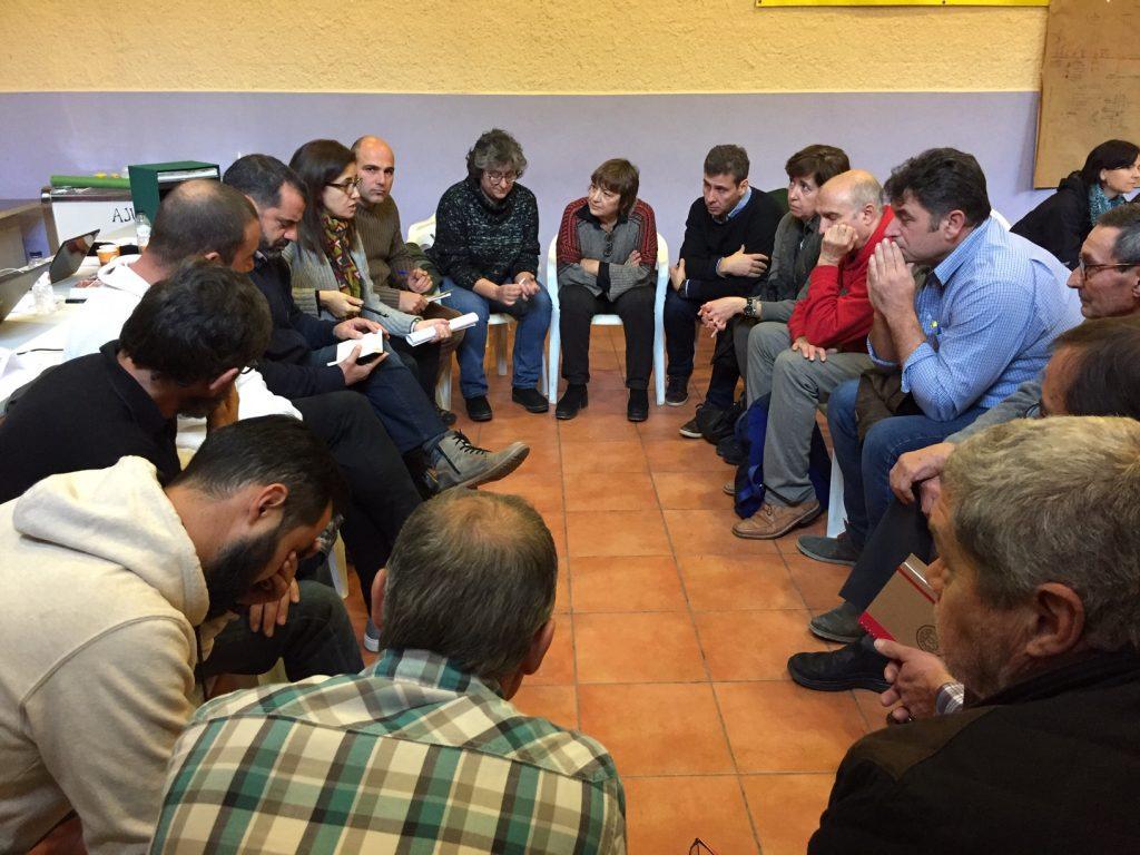 grup de debat Objectius