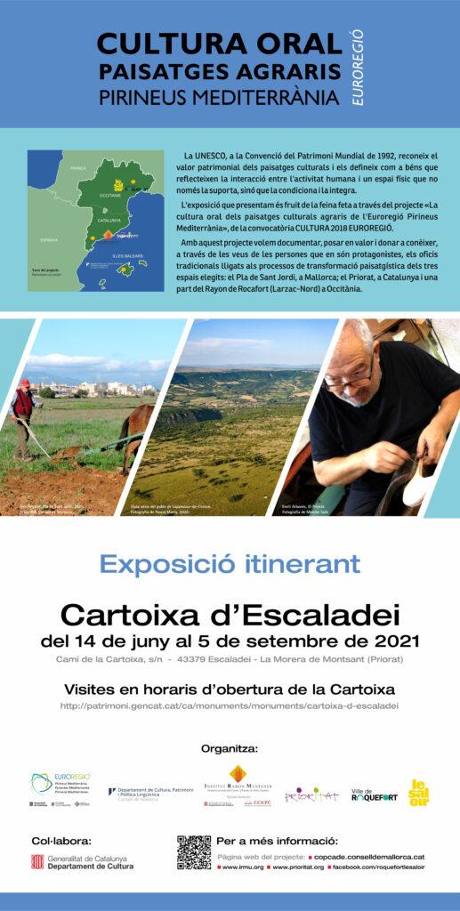 Aquesta imatge té l'atribut alt buit; el seu nom és pòster_difusió-Expo-Euroregió-CARTOIXA-DESCALADEI-517x1024.jpg
